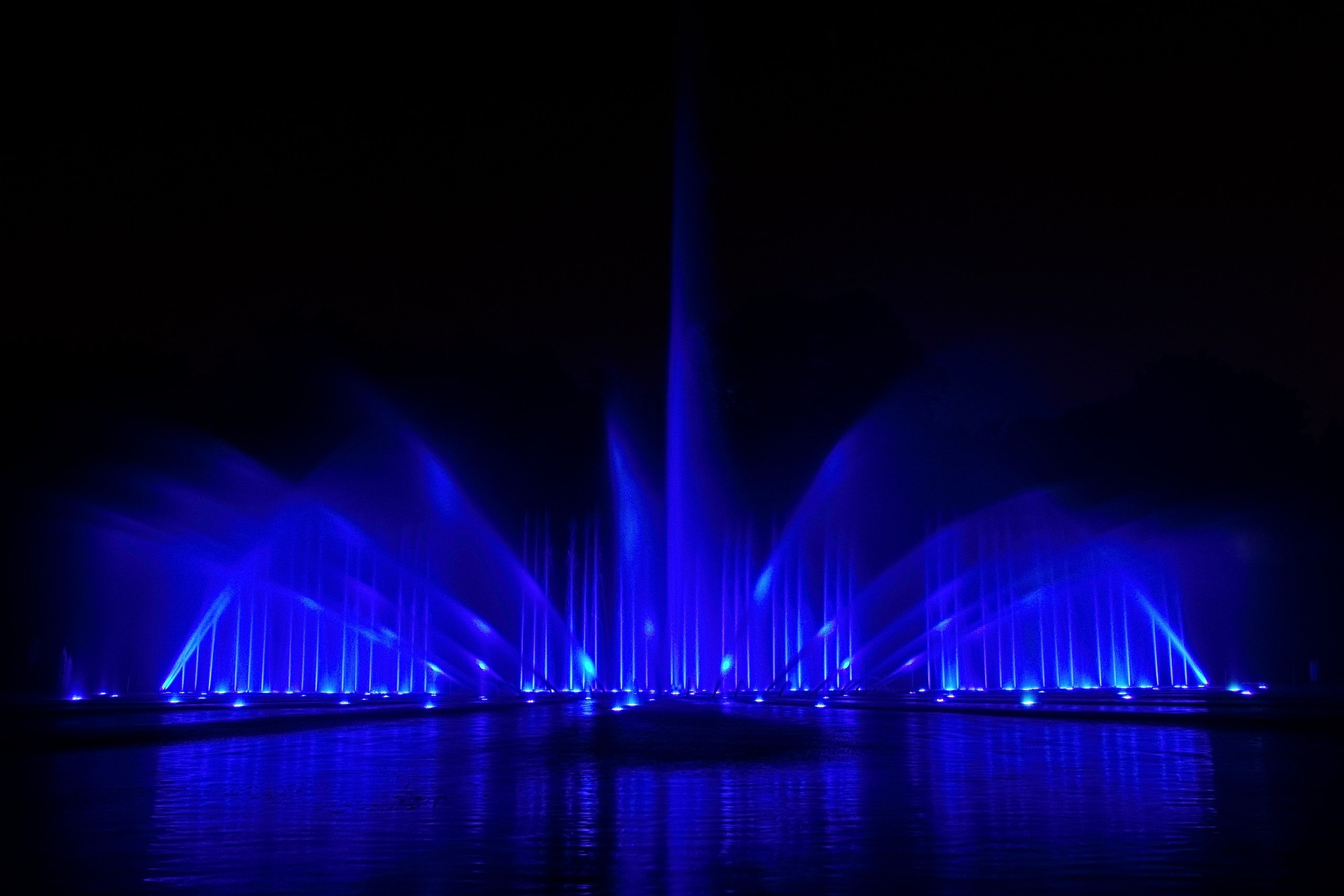 The Blue Fountain