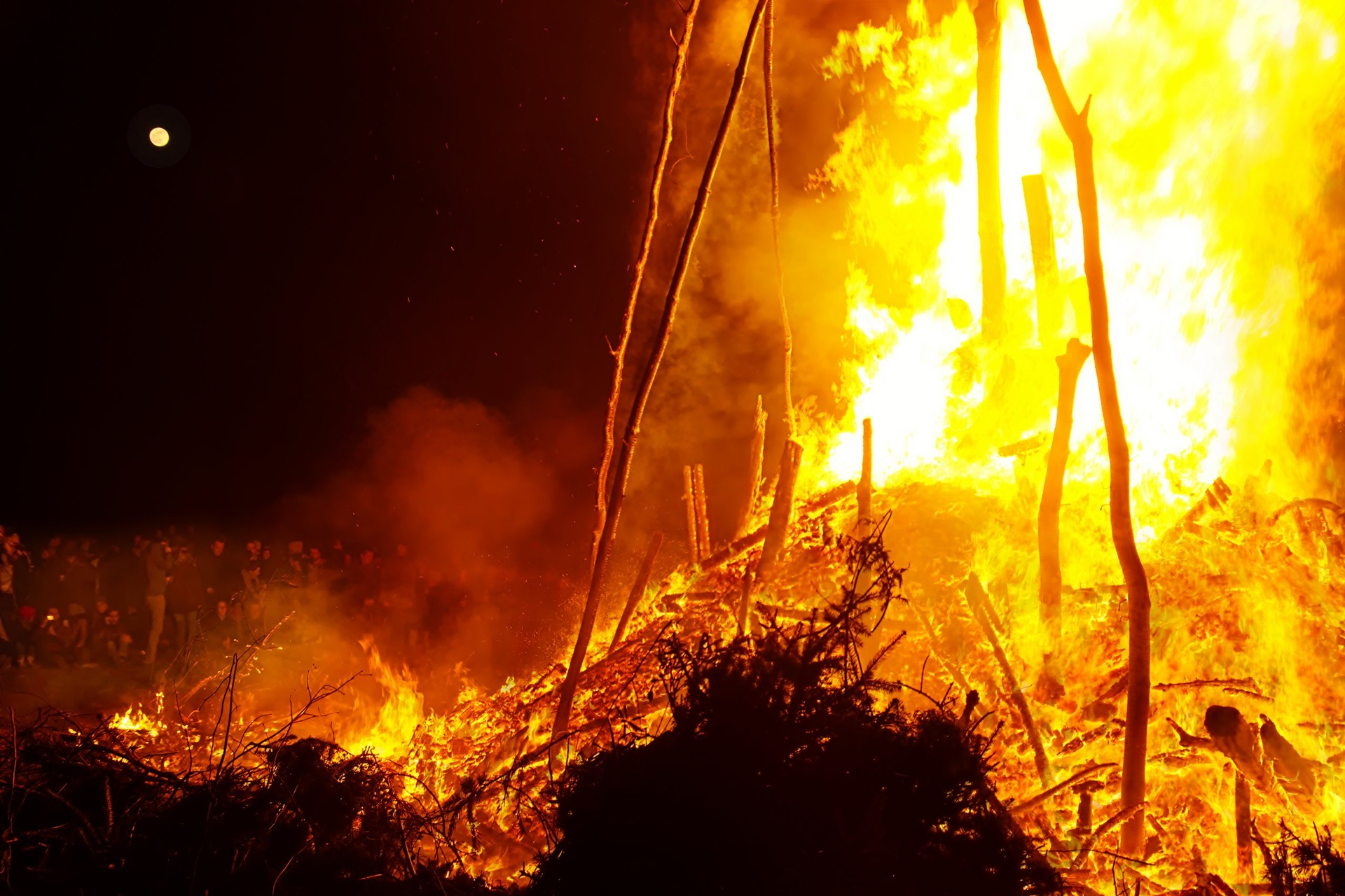 Osterfeuer Blankenese